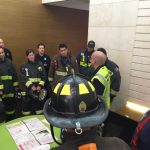 Fire test training in San Francisco with Chief Freddie Fernandez